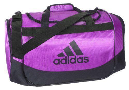 5c682f9aac Adidas Defender Small Duffel Bag (Purple Black) by adidas.  29.99 ...