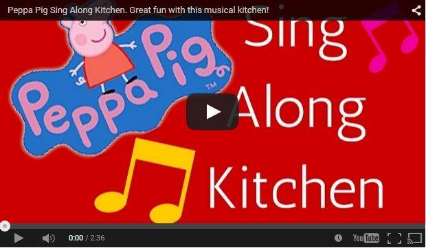 Peppa Pig Sing Along Kitchen