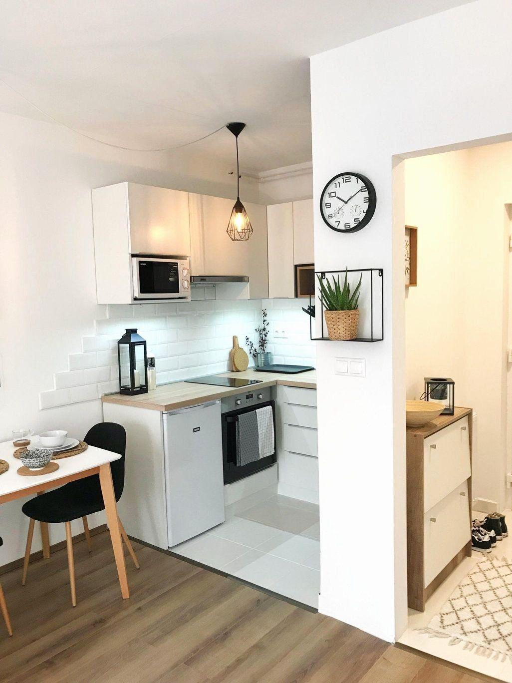 Studio Apartment Kitchen Ideas Best Of Nice 40 Cozy Small Apartment Kitchen Design I Small Kitchen Design Apartment Small Kitchen Decor Small Apartment Kitchen