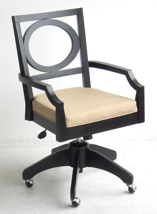 Art Deco Office Furniture Chair With Upholstered Seat Repinned Via Susan