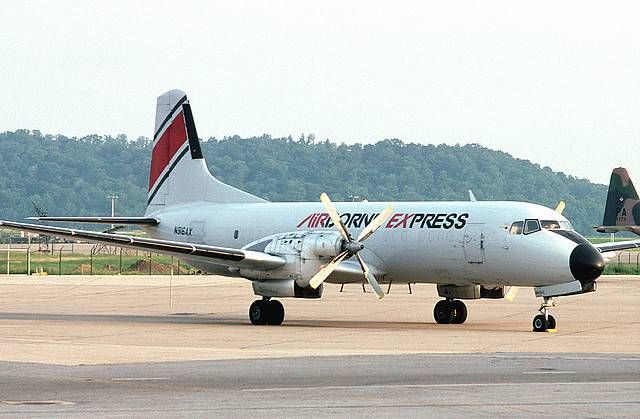 Airborne Express (ABX) - NAMC YS-11A freighter  The worse