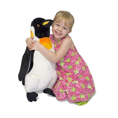 Melissa & Doug Deluxe Standing Plush Penguin  - Melissa & Doug -  Water Life - FAO Schwarz®