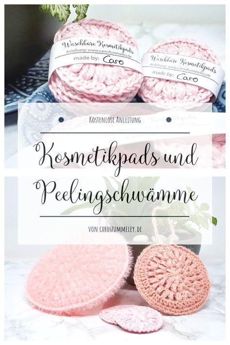 Photo of Kosmetikpads häkeln – Kostenlose Anleitung und Banderole zum Drucken