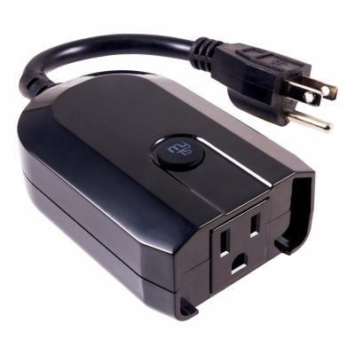 Mytouchsmart Wi Fi Outdoor Smart Plug Weather Resistant Black Wifi Plugs Alexa Device