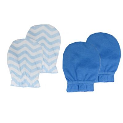 ccdf9ea86 Luvable Friends 2 Pack Newborn Baby Mittens Cute Baby Scratch ...