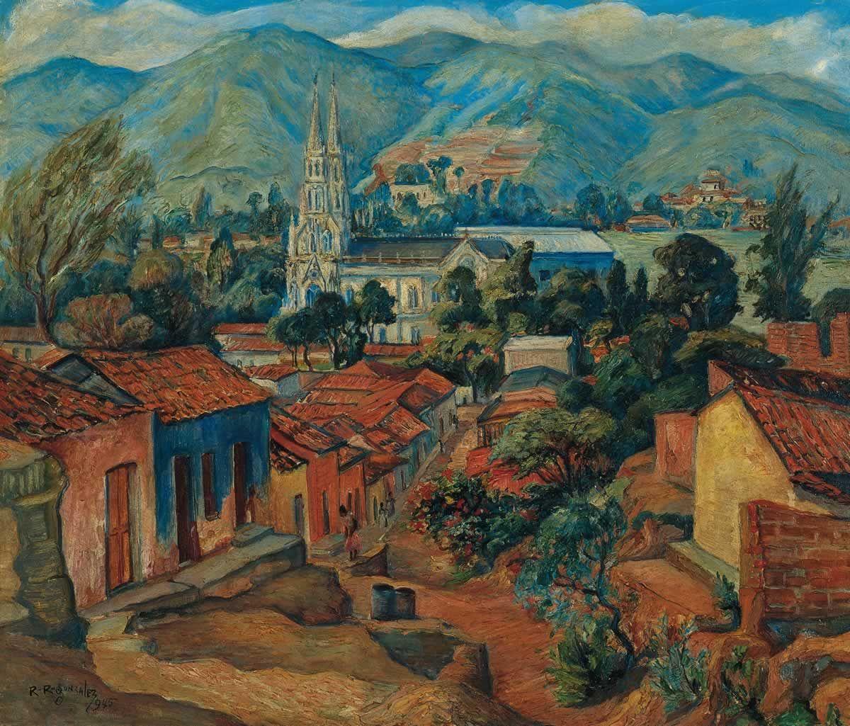 Capilla de la Inmaculada, 1945 Rafael Ramón González