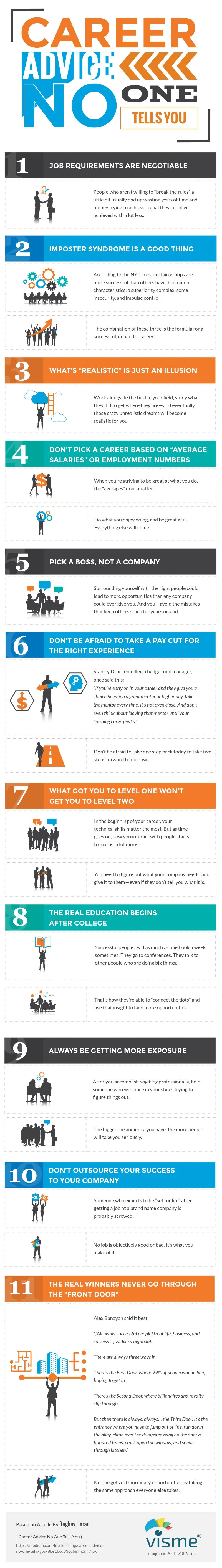 career advice no one tells you - Successful Career How To Be Successful In Career In Life