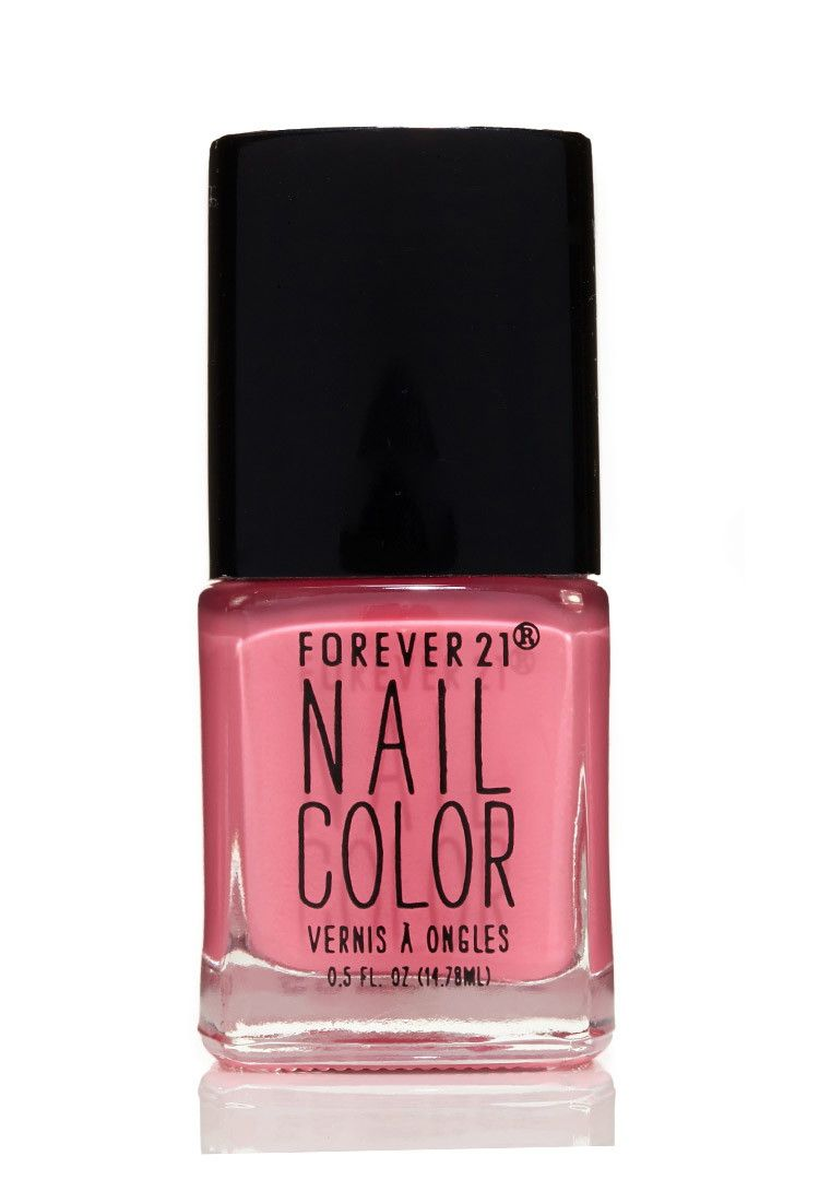 Neon Pink Nail Polish | Forever 21 | Pinterest | Pink, Neon and Neon ...