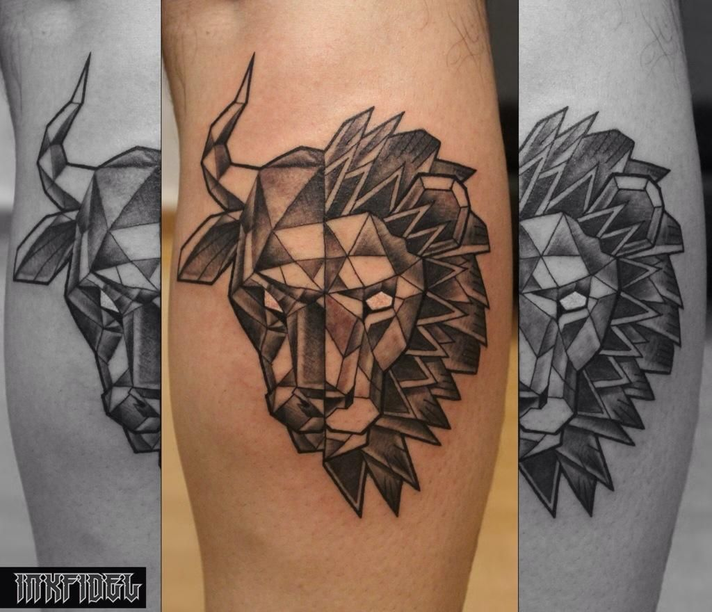 1f2f216108a21 Pin by Mia Melton on Taurus & Leo Love | Taurus tattoos, Leo tattoos ...