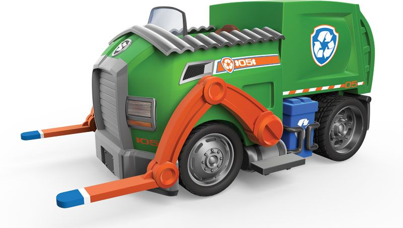 rocky paw patrol vehicle has handy resources he s an enthusiastic