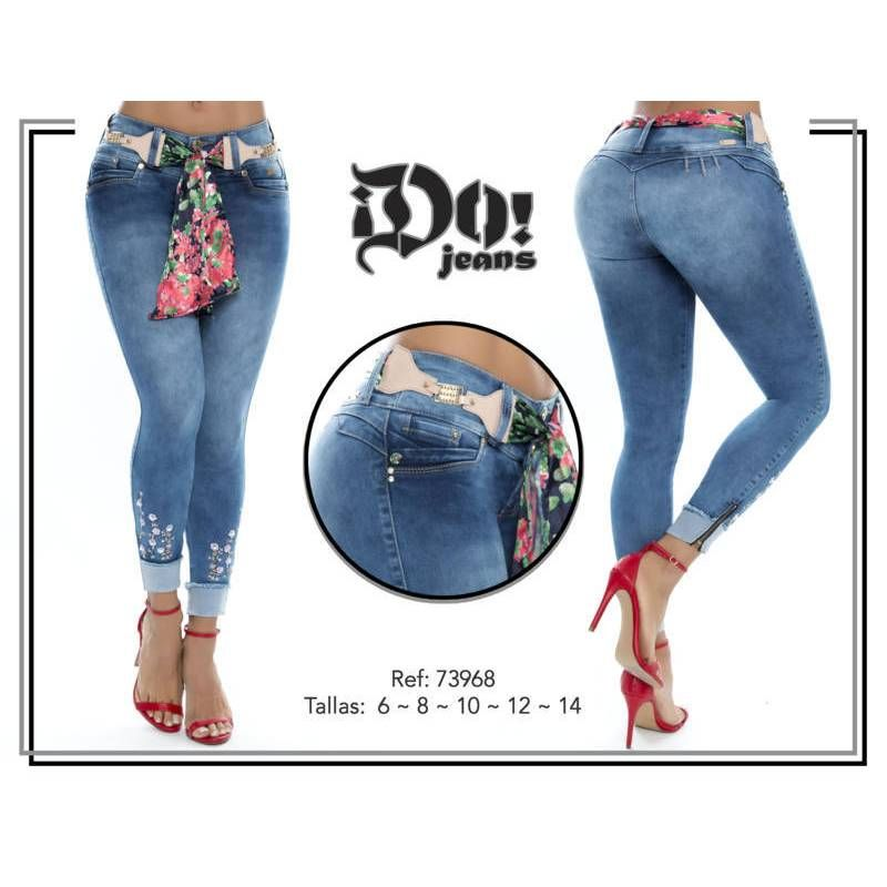 Vaquero Levanta Cola 73968 Talla 6 Color Azul Talla 8 Color Azul Talla 10 Color Azul Talla 12 Co Jeans De Moda Pantalones Mujer Pantalones Jeans