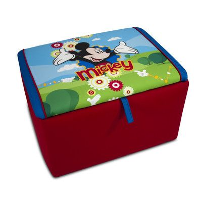 KidzWorld Disney Mickey Mouse Clubhouse Toy Box