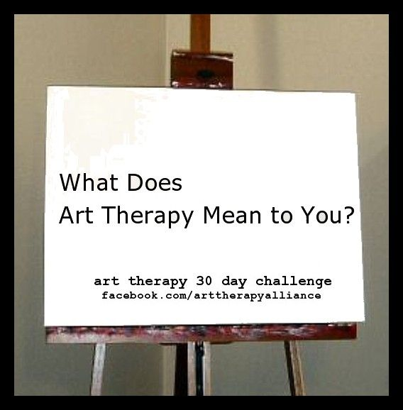 What Does Form Mean In Art : Art therapy challenge day what does mean
