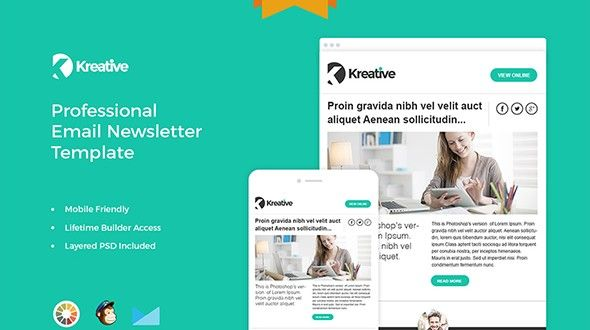 35 Best Responsive HTML Email Templates (Free, Premium) Culture
