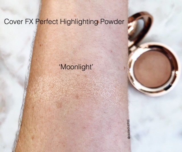 Cover Fx Perfect Light Mini Highlight Review Dolled Up By J Cover Fx Perfect Lights Light