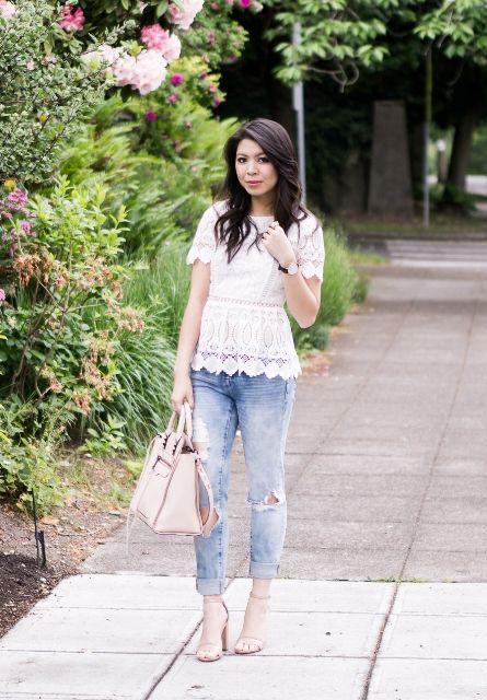 18 Spitzenhemd-Outfits für diesen Sommer