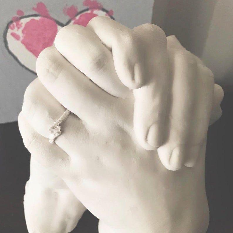 Image 1 Casting Kit Diy Plaster Hand Molding