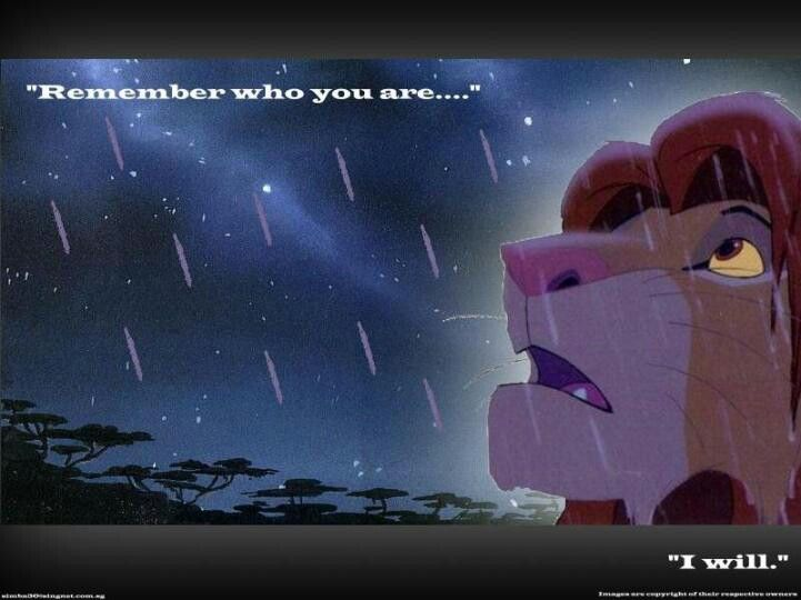 Mufasa Speaking To Simba The Lion King Life Quotes Lion Lion