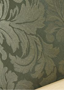 Damask Olive fabric is made of the finest quality damask like woven textile with beautiful design and wonderful silky texture.  Very rich looking and silky to the touch. Fabric Sample #Slipcovers