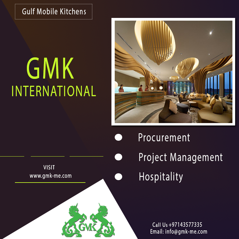 Gmk Dubai Based Hospitality Procurement Manufacturing