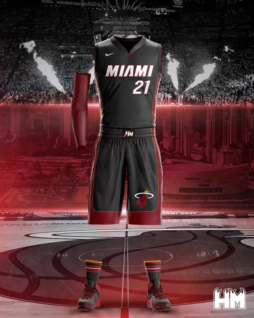 Who s ready to see these Heat Nike uniforms this season  9610509d2
