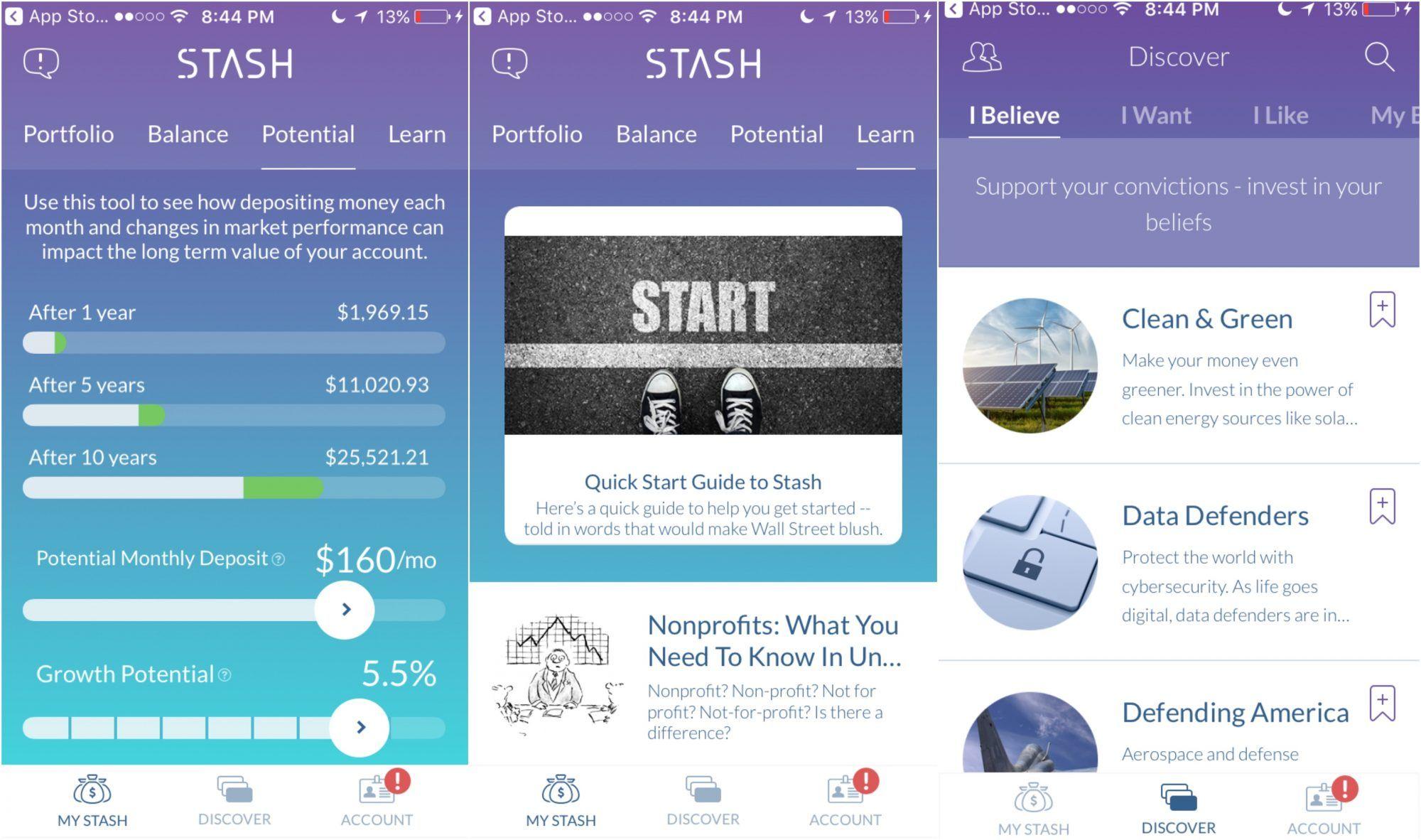 """Résultat de recherche d'images pour """"stash app"""""""