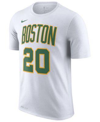 a4b9495a6 Nike Men s Gordon Hayward Boston Celtics City Player T-Shirt 2018 - White XL