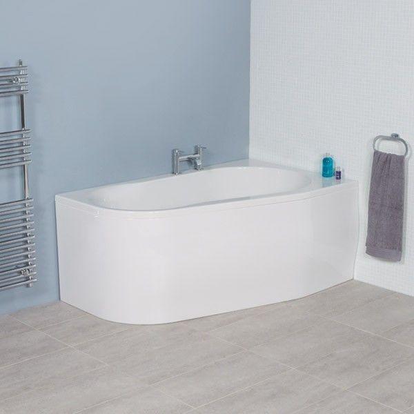 1500 x 900 Prima Offset Luxury Right Handed Corner Bath | New ...
