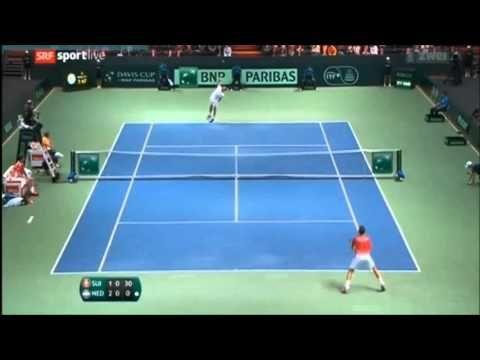 Stan Wawrinka vs De Bakker  Highlights Davis Cup 2015