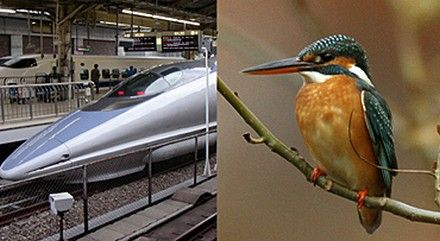 The Nose Cone Of Japan S 500 Series Shinkansen Bullet Train Is