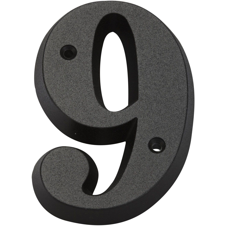 Chiffre 9 En Zamak Mat H 8 X L 4 5 Cm Novap En 2020 Chiffre Et Produits