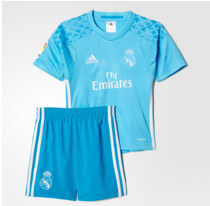 camiseta del real madrid azul 2016