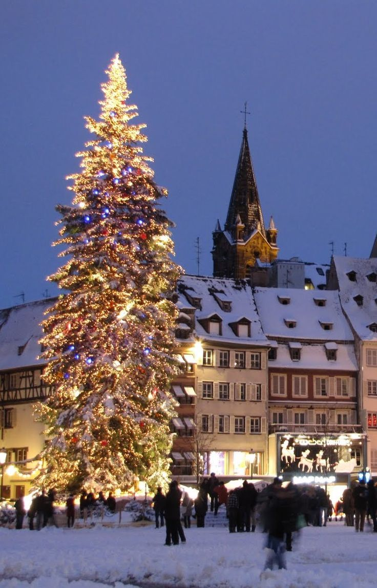 Strasbourg Christmas market Christmas in europe
