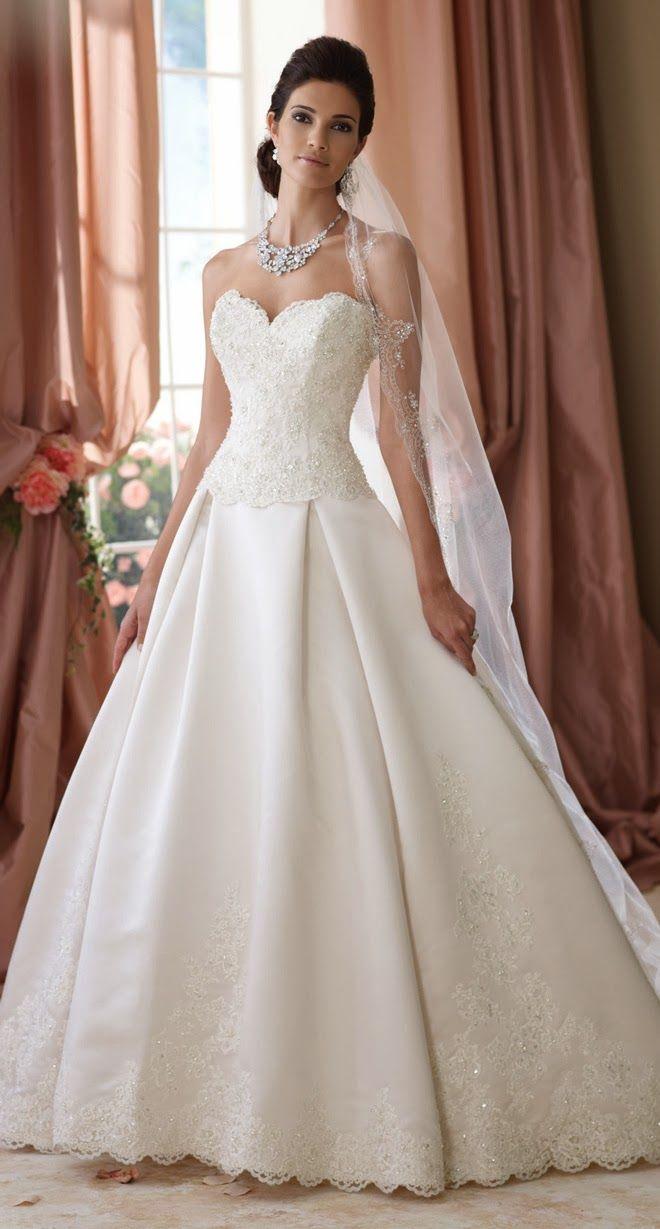 La sposa pandora wedding dress  David Tutera for Mon Cheri Spring  Bridal Collection  Read more