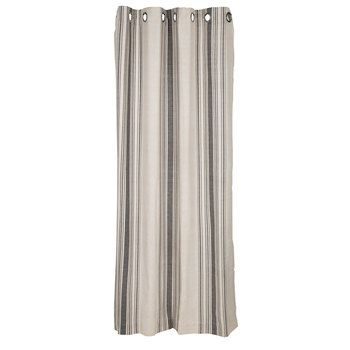 Verdana Striped Curtain Panel With Grommets 50 X 84 Hobby Lobby 1328020 Striped Curtains Panel Curtains Curtains