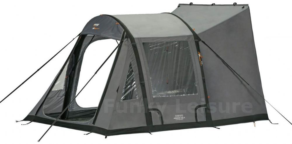 The Vango AirBeam Kela Is A Rapid Pitch Drive Away Awning That Will Fit Straight
