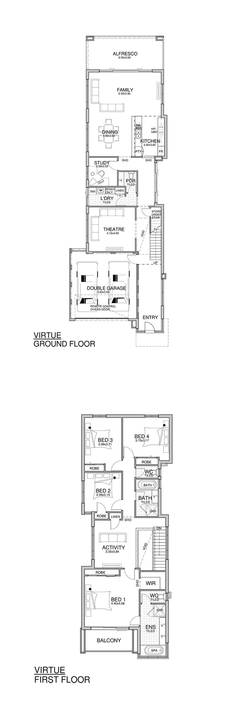 Virtue #HomeDesign #FloorPlan   Rosmond Homes · GrundrisseDuplex DesignHaus  ...