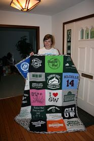 College Crafter: T-Shirt Quilt