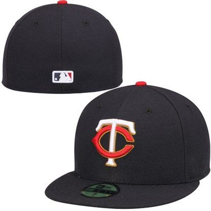 MLB Minnesota Twins On-Field Alt Pro Fit Navy Hat from New Era c17877b2e16