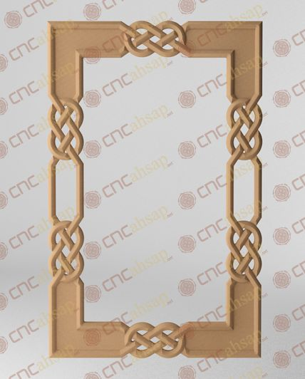 Cnc kesim mdf ayna Çerçevesi cutting mirror frame