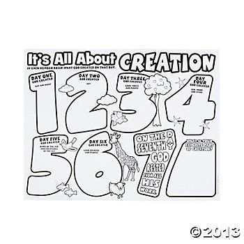 """Color Your Own """"It's All About Creation"""" Posters (With"""