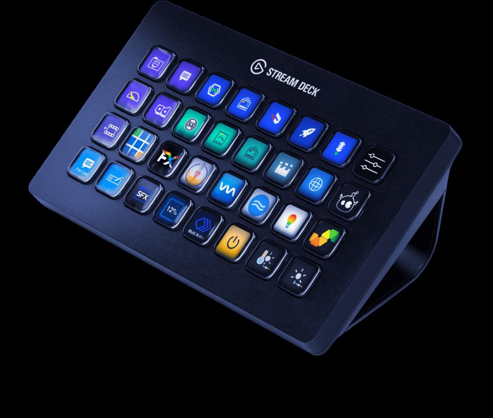 Stream Deck XL Custom pc, Deck, Keyboard