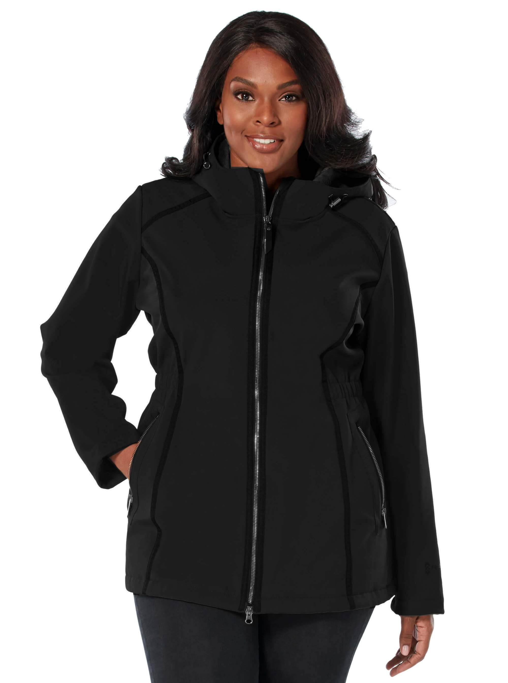 e186d12a5adc1 Womens plus size saunter long softshell jacket free country jpg 2000x2685 Plus  size soft shell jacket
