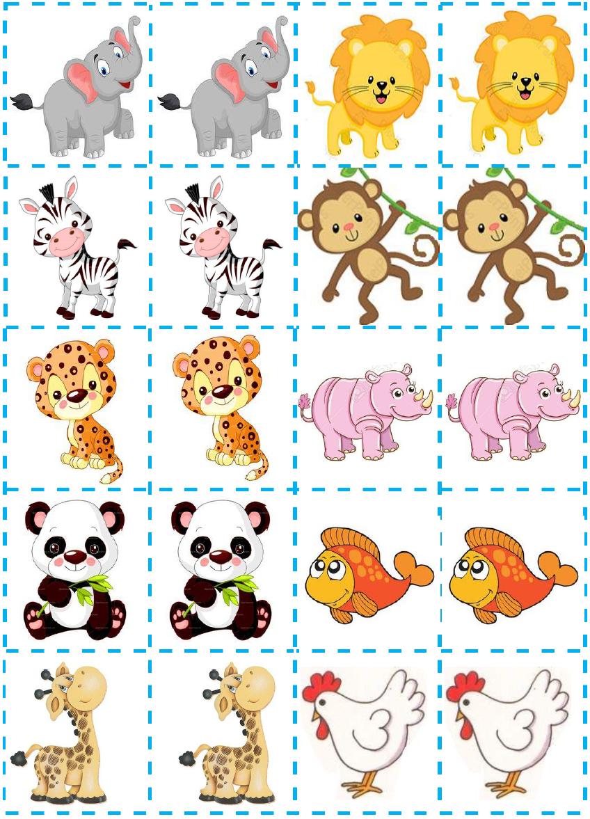 Jogo Da Memoria Do Animais Projeto Animais Educacao Infantil Educacao Infantil Brincadeiras Educacao Infantil