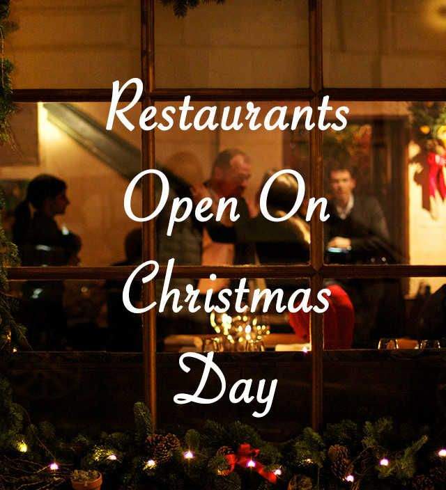Restaurants open on christmas day including blueprint cafe duck restaurants open on christmas day including blueprint cafe duck waffle hoi polloi holborn dining room hubbard bell paradise by way of kensal green malvernweather Gallery