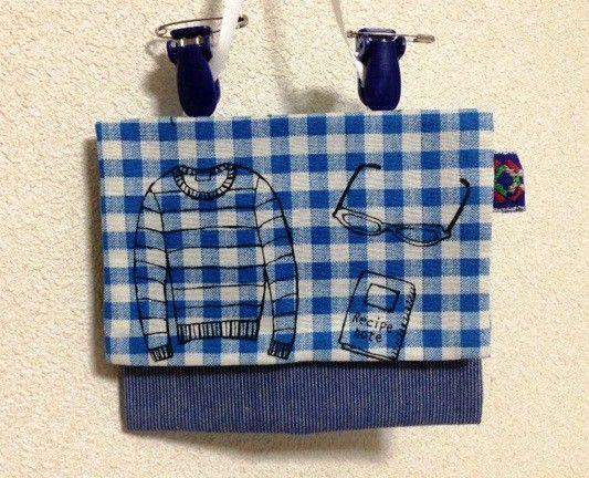 ポケットのない洋服に便利な移動ポケットです。YUWA生地で作成しました。フタを開けるとポケットとティッシュ入れがあります。※サイズについて・縦 11センチ・横...|ハンドメイド、手作り、手仕事品の通販・販売・購入ならCreema。