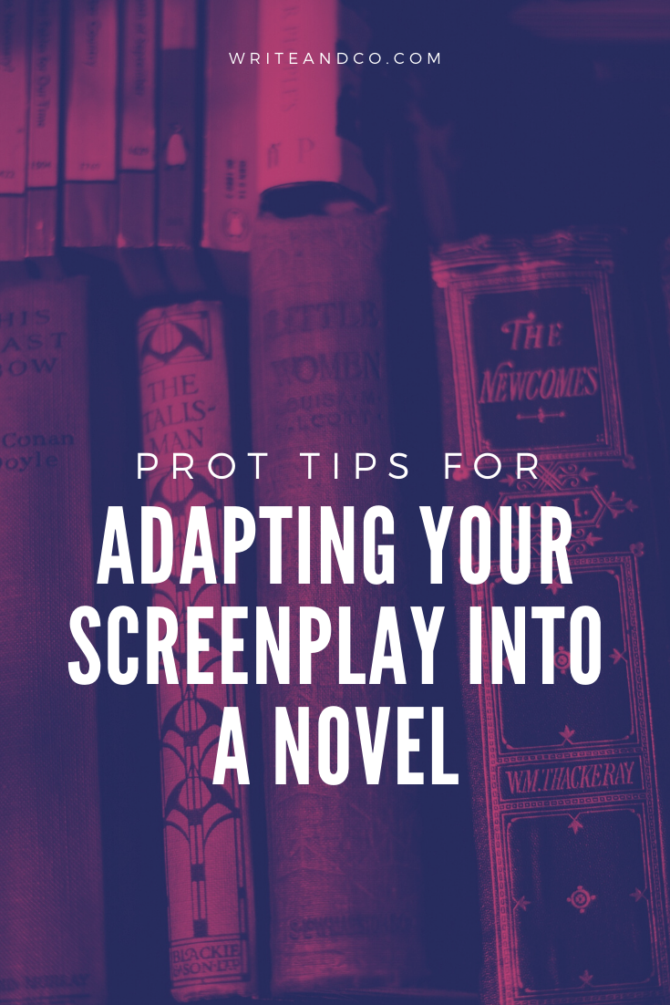 It's no surprise to hear that Hollywood still craves adaptations, and producers are always looking for good IP. Why not adapt your screenplay into a novel? #screenwriting #screenplay #amwriting #story #novelinspiration