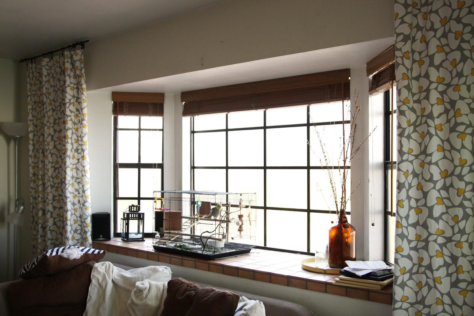 Window coverings ideas  curtain ideas for large bow windows  realtagfo