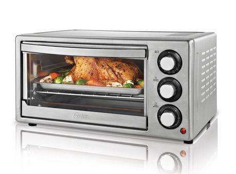 Oster 6 Slice Convection Toaster Oven Stainless Steel Oven