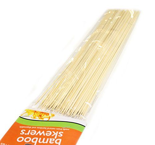 Pack of 120 Extra Long Disposable Bamboo Skewers BBBQTIME/BAMBOO http://www.amazon.com/dp/B00LKR32Z2/ref=cm_sw_r_pi_dp_hdXfvb1TQ0FZS